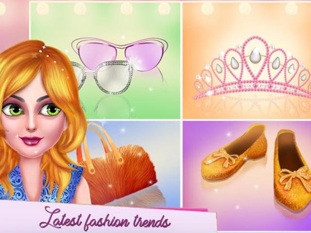 Fashion Model Makeup Salon : Girls Makeover Game screenshot 14