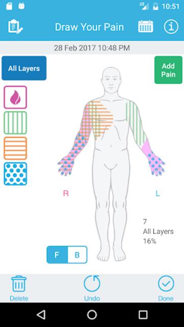 Pain Tracker & Diary screenshot 1