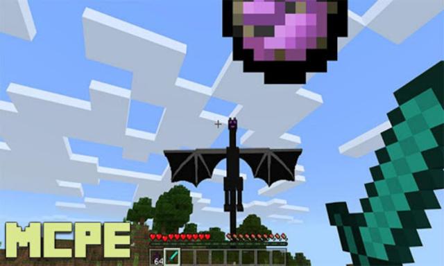 Baby Ender Dragons Addon for MCPE screenshot 1
