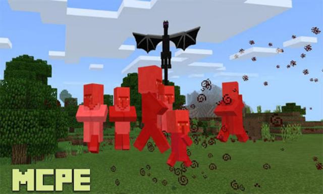 Baby Ender Dragons Addon for MCPE screenshot 2