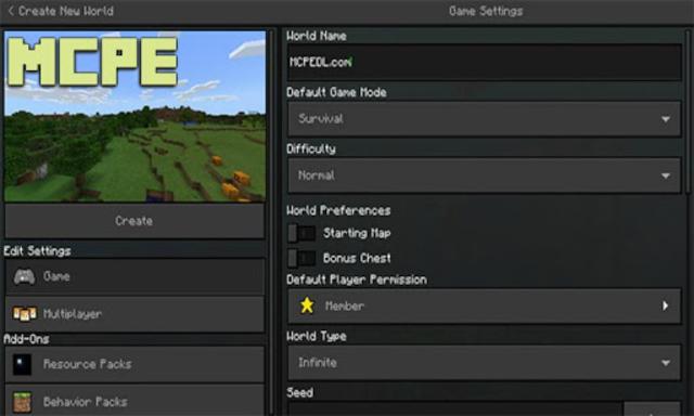 Dark Mod Resource Pack for MCPE screenshot 1