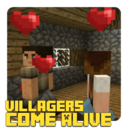 Icon for Villagers Come Alive Addon for MCPE