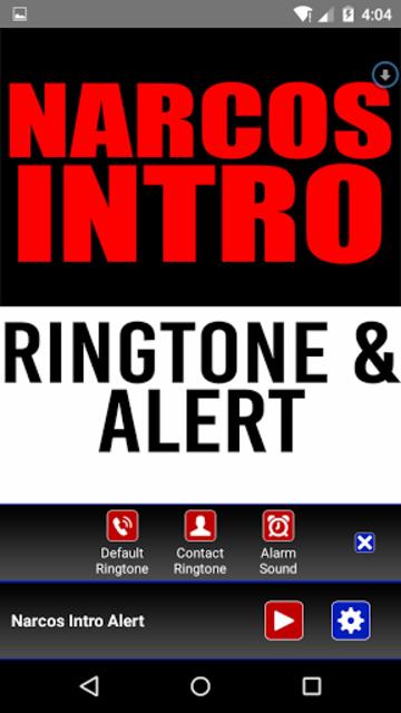 Narcos Intro Ringtone & Alert screenshot 2