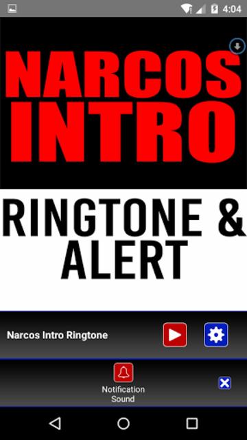 Narcos Intro Ringtone & Alert screenshot 3