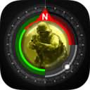 Icon for Compass GPS Pro  Military Compass with camera