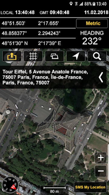 GPS Locations screenshot 1