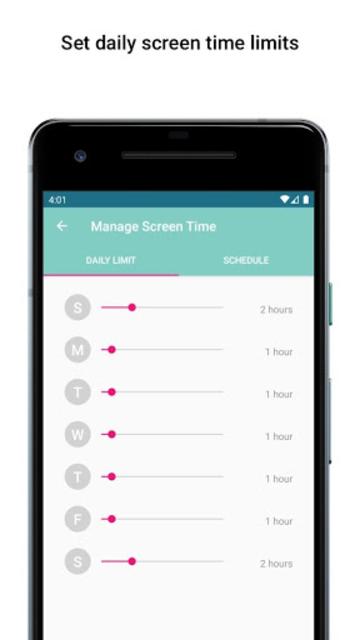 Boomerang Parental Control - Screen Time app screenshot 8