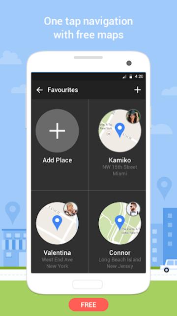 Navigation - GPS Navigation, Free Maps GPS screenshot 3