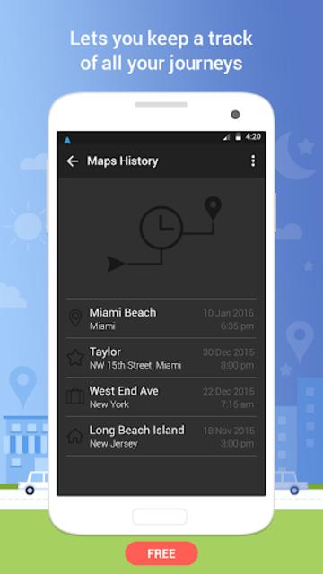 Navigation - GPS Navigation, Free Maps GPS screenshot 4