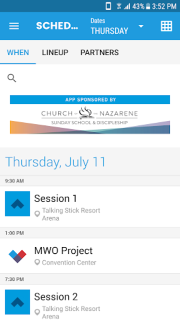 Nazarene Youth Conference 2019 screenshot 4