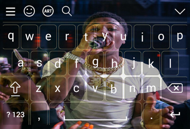 Keyboard for nba young boy screenshot 1