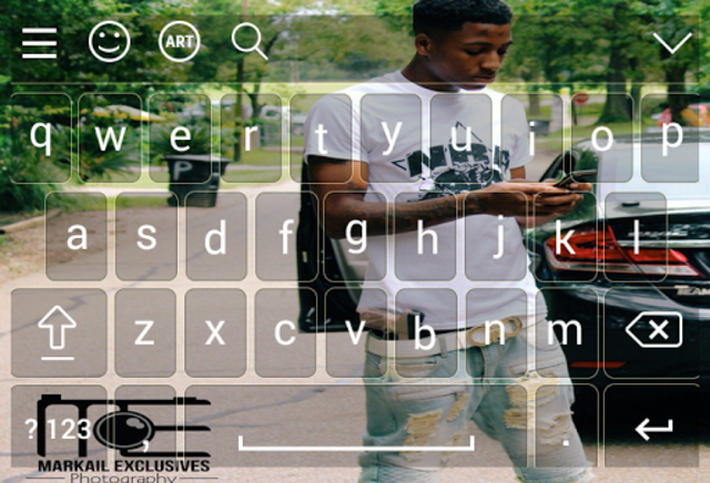 Keyboard for nba young boy screenshot 2