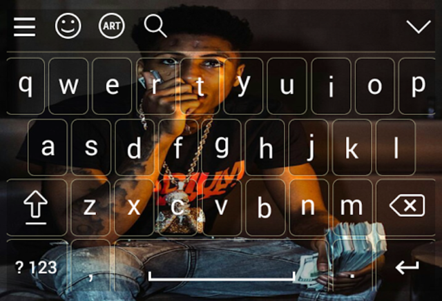 Keyboard for nba young boy screenshot 3