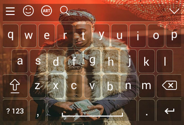 Keyboard for nba young boy screenshot 5