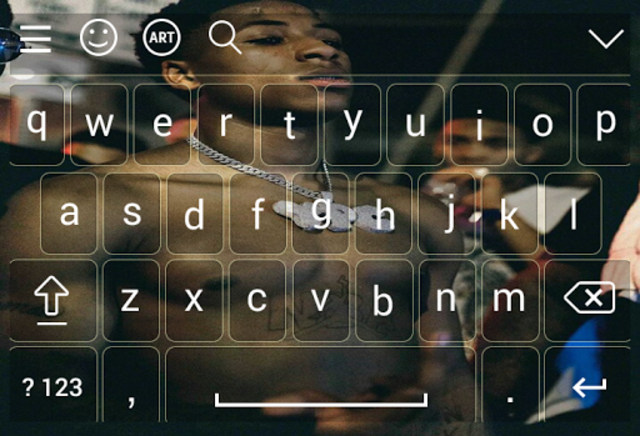 Keyboard for nba young boy screenshot 6