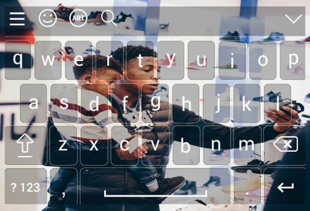 Keyboard for nba young boy screenshot 7