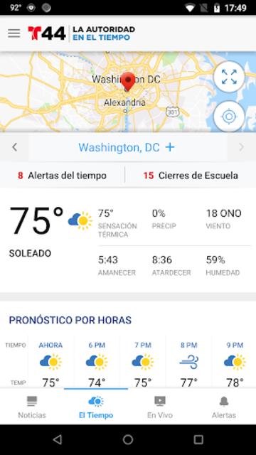Telemundo 44 screenshot 3