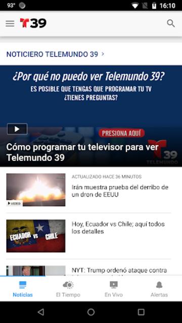 Telemundo 39 screenshot 3