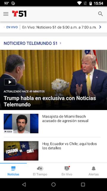 Telemundo 51 screenshot 2