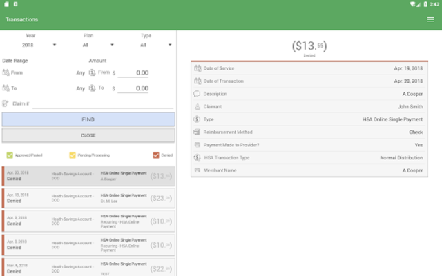 NBS Benefits Mobile screenshot 9