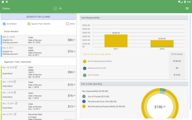 NBS Benefits Mobile screenshot 10