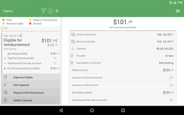 NBS Benefits Mobile screenshot 11