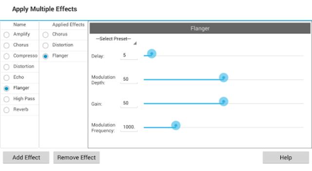 MixPad Master's Edition screenshot 4