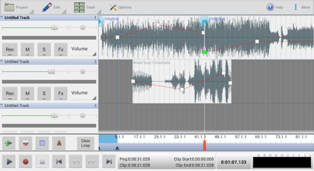 MixPad Master's Edition screenshot 1