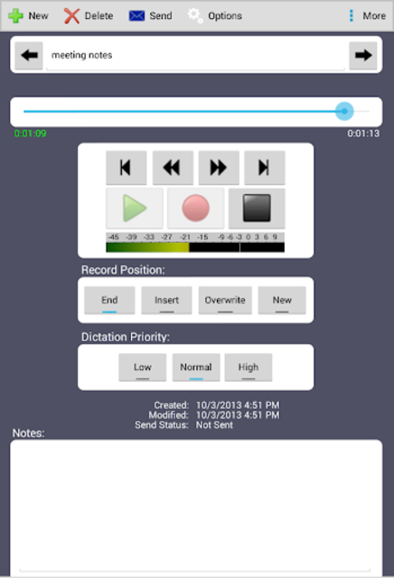 Express Dictate Professional screenshot 2