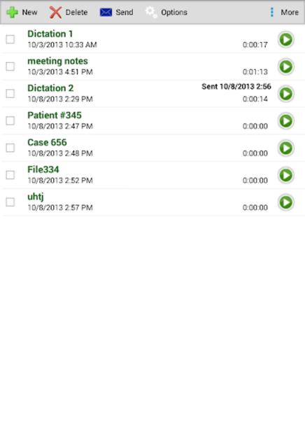 Express Dictate Professional screenshot 4