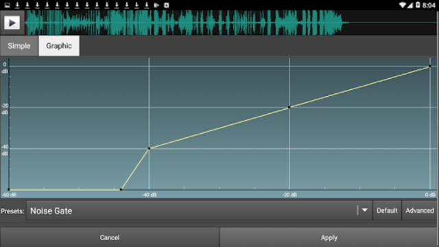 WavePad Master's Edition screenshot 3