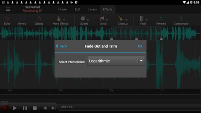 WavePad Master's Edition screenshot 4