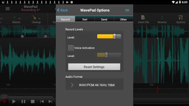 WavePad Master's Edition screenshot 7