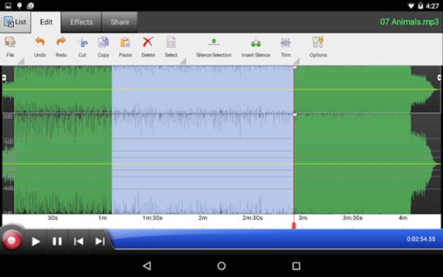 WavePad Master's Edition screenshot 8