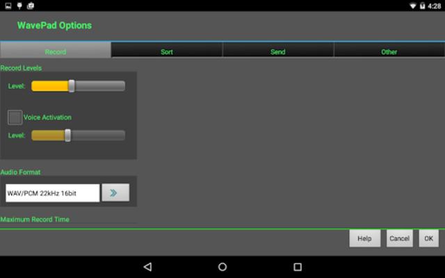 WavePad Master's Edition screenshot 12