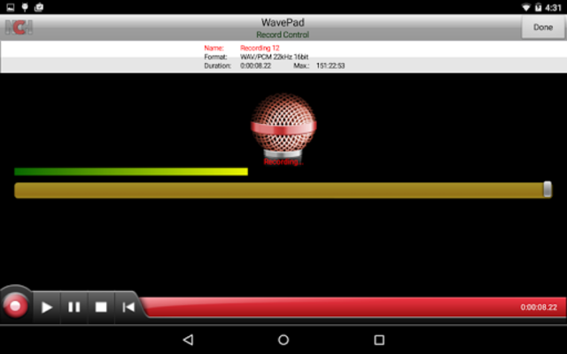 WavePad Master's Edition screenshot 1