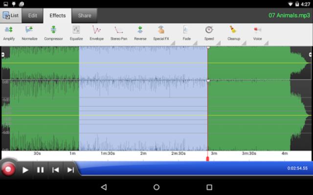 WavePad Master's Edition screenshot 2