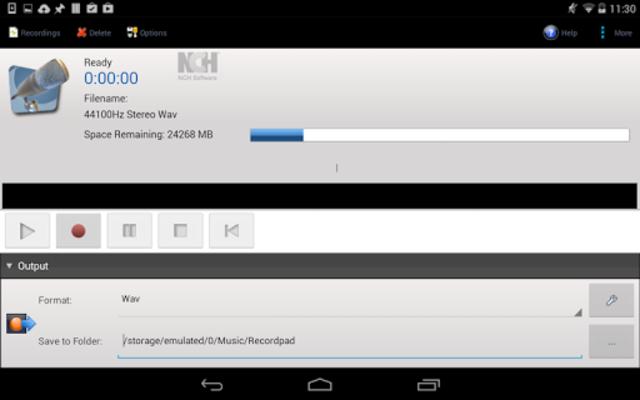 RecordPad Pro Edition screenshot 1