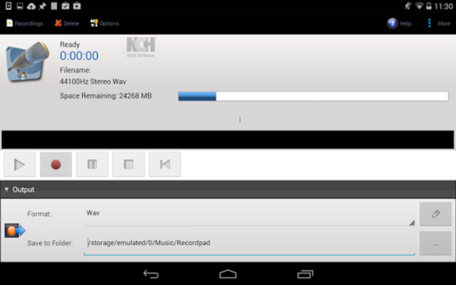 RecordPad Pro Edition screenshot 2