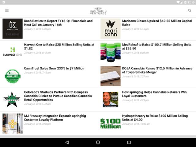 New Cannabis Ventures screenshot 6