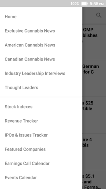 New Cannabis Ventures screenshot 3