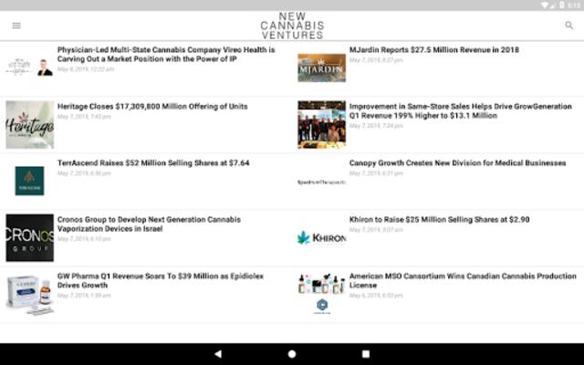 New Cannabis Ventures screenshot 10