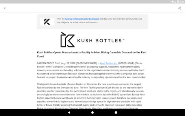 New Cannabis Ventures screenshot 12