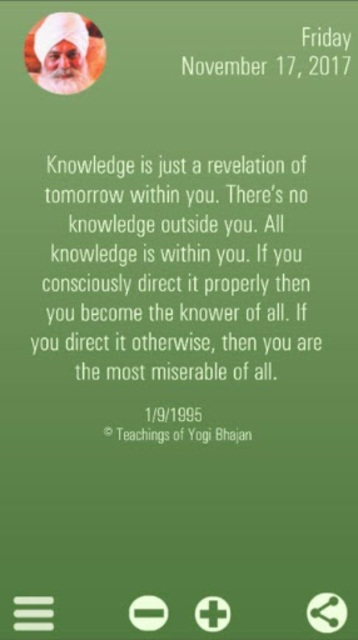 Yogi Bhajan Quotes 2018 screenshot 5