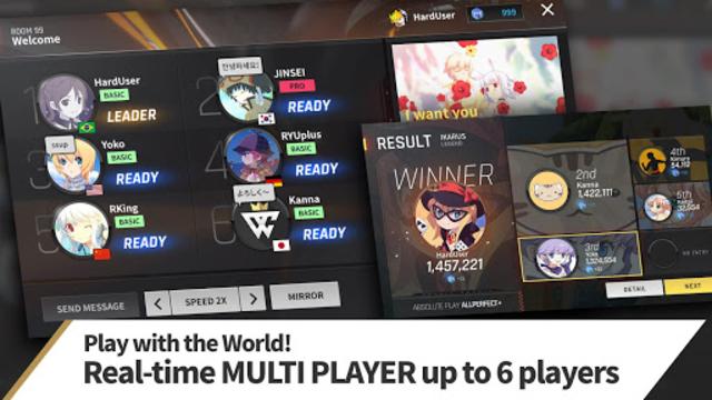 TAPSONIC World Champion - rhythm game screenshot 1