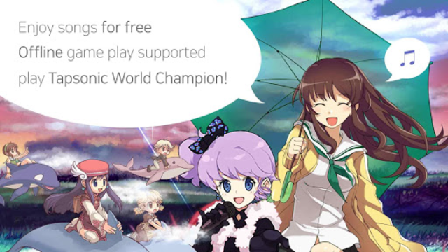 TAPSONIC World Champion - rhythm game screenshot 7