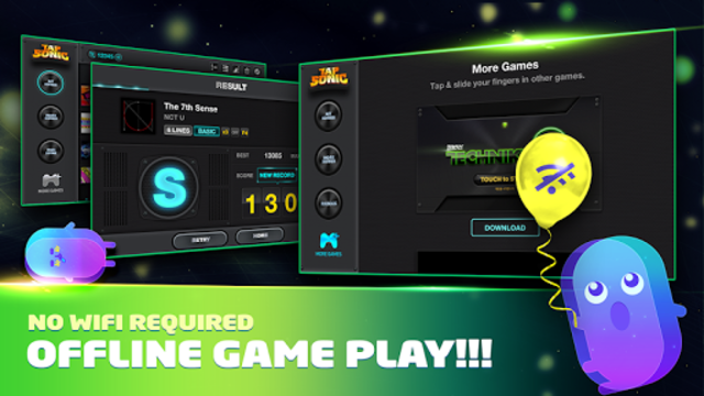 Free Music Game - TAPSONIC screenshot 3