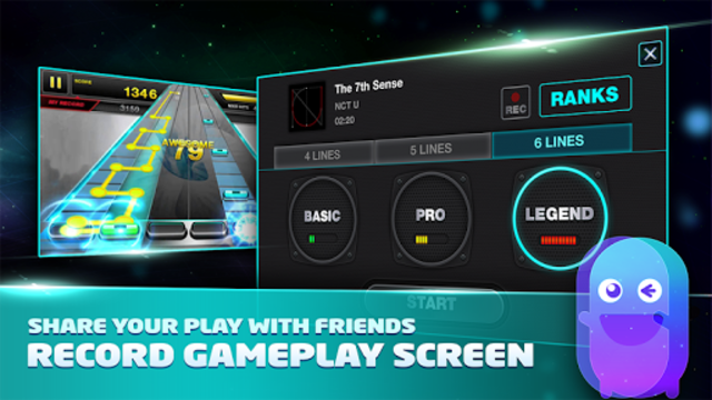 Free Music Game - TAPSONIC screenshot 5