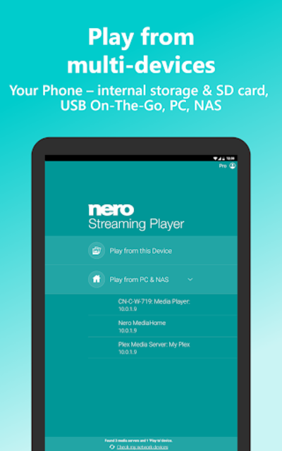 Nero Streaming Player Pro | Connect phone to TV screenshot 7
