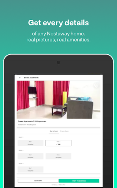 Nestaway- Rent a House, Room or Bed screenshot 9